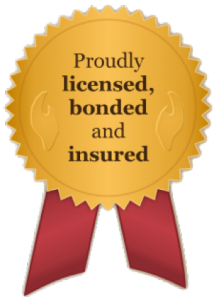 License, Bonded, and Insured